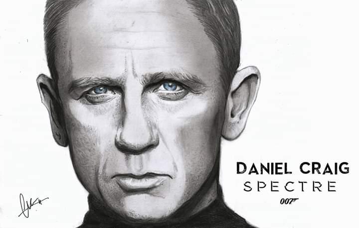 Daniel Craig by ChristianVela